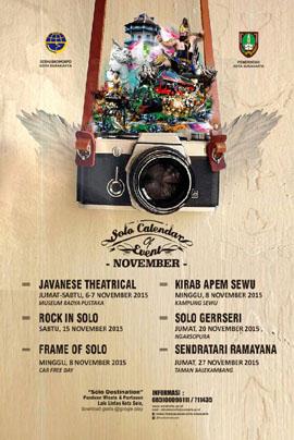 Kalender Event Solo Bulan November 2015