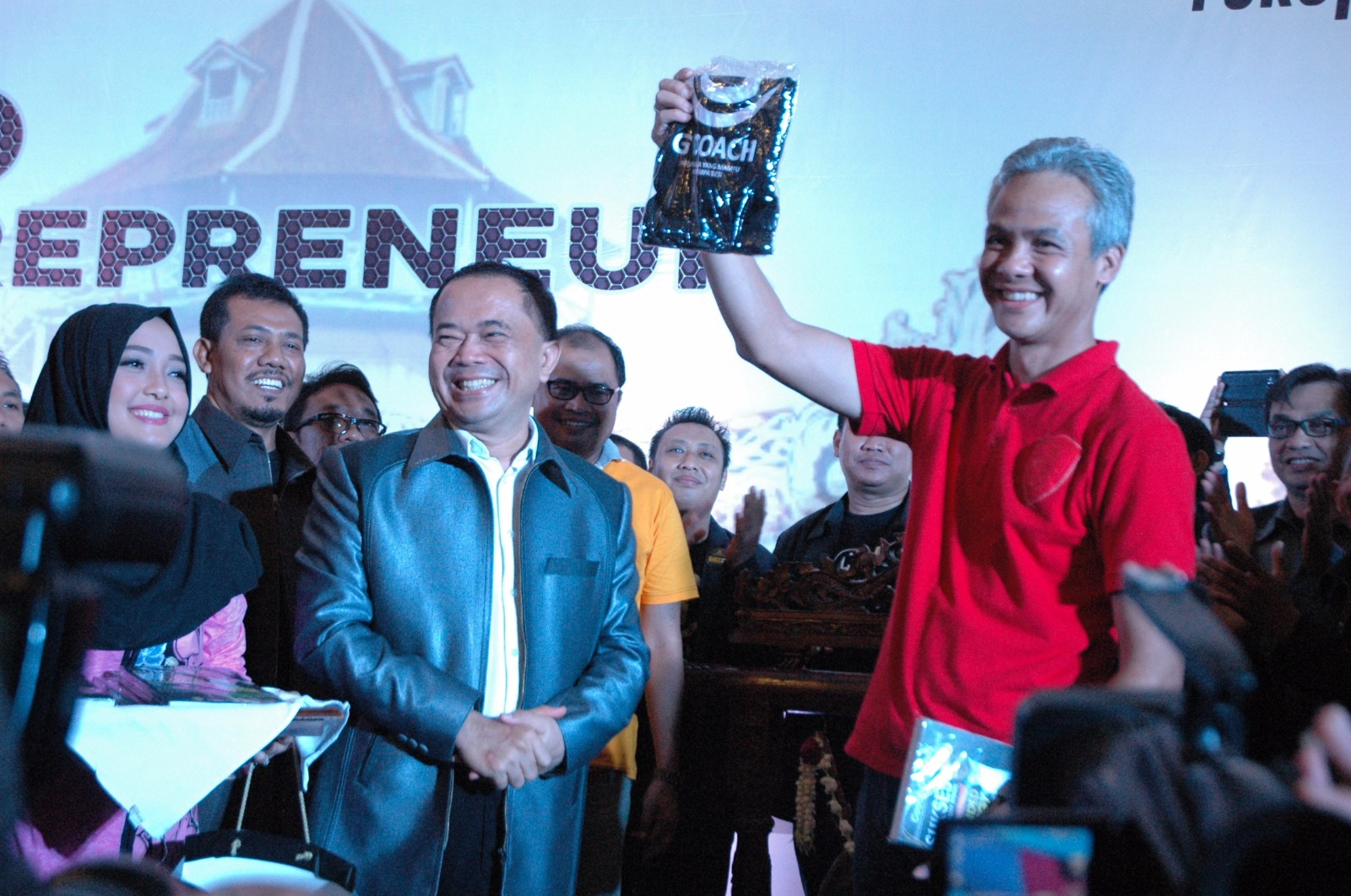 Gubernur Ganjar Pranowo hadir di Solo Entrepreneur Days 2017