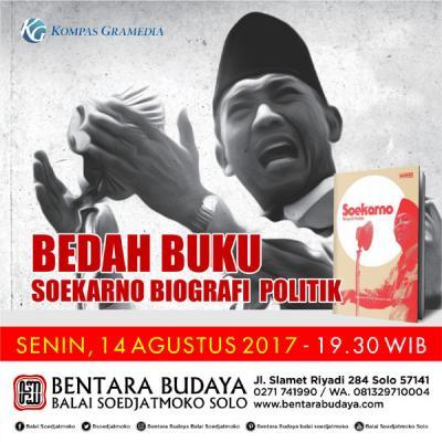 Bedah Buku Biografi Politik Soekarno