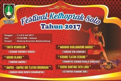Festival Kethoprak 2017