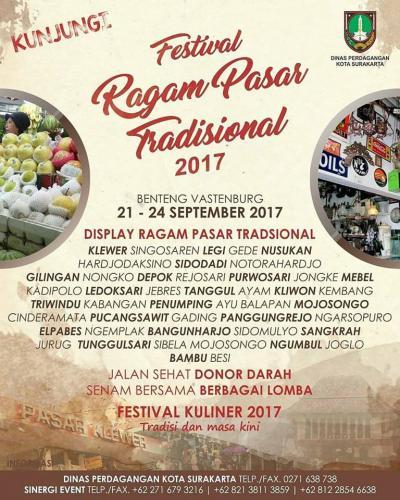 Festival Ragam Pasar Tradisional 2017