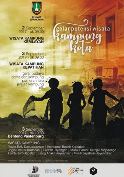 Gelar Potensi Wisata Kampung Kota Surakarta