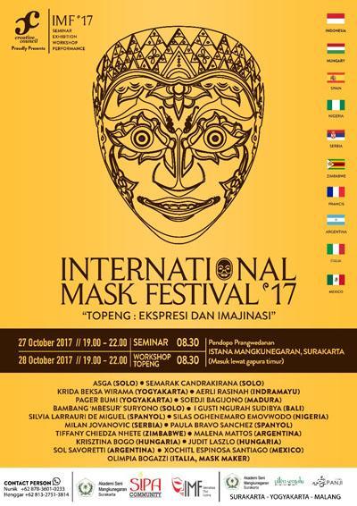 Internasional Mask Festival (IMF) 2017
