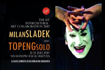 """Kolaborasi Seni """"Milan Sladek and Topeng Solo"""""""
