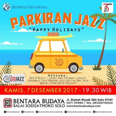"""Parkiran Jazz """"Happy Holidays"""""""