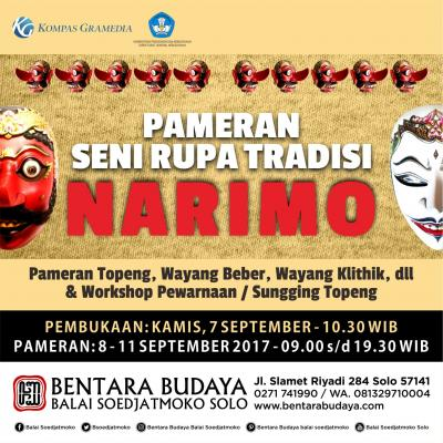 Pameran Seni Rupa Tradisi Karya Narimo