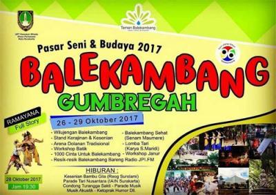 Pasar Seni Balekambang 2017