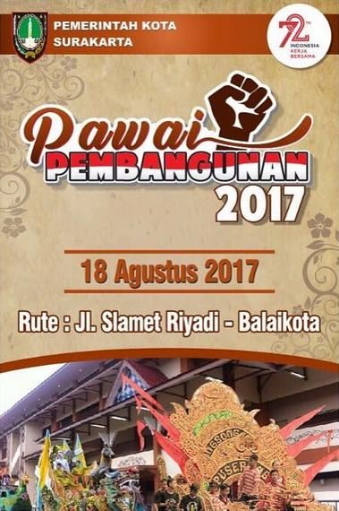 Pawai Pembangunan Solo 2017