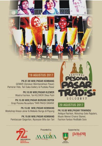 Festival Pesona Pasar Tradisi 2017
