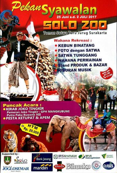 Syawalan Solo Zoo - Lebaran 2017