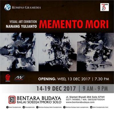 Visual Art Exhibition: Memento Mori, Refleksi Hentakan Ruh Nanang Yulianto